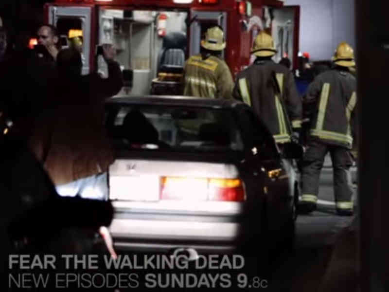 Fear The Walking Dead Ambulance Footage