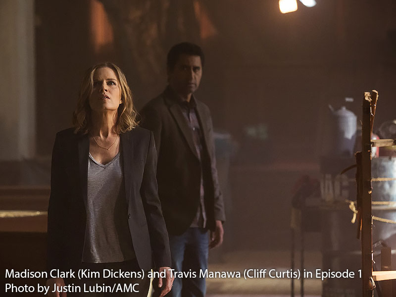 Kim Dickens and Cliff Curtis on Fear The Walking Dead Episode 1