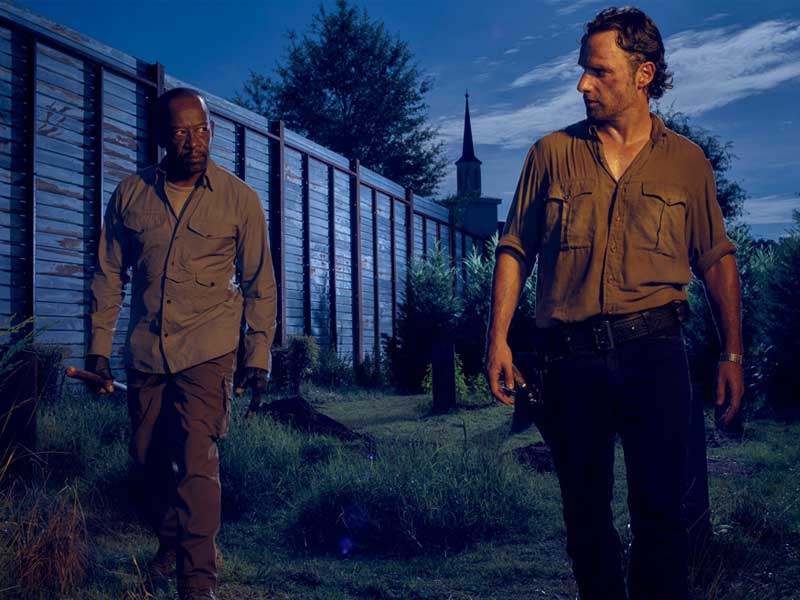 The Walking Dead Morgan and Rick