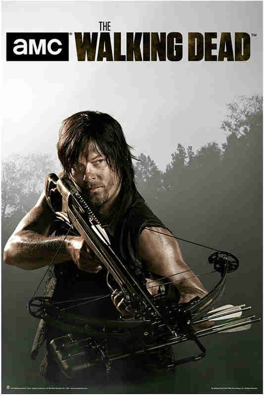 The Walking Dead Daryl Poster Giveaway